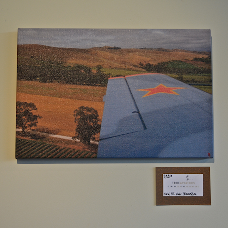 Home shop Posters and Postcards Russian Bare over the Barossa Valley